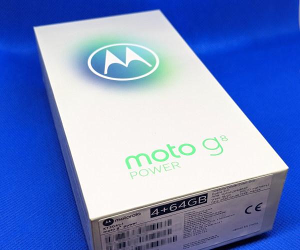 moto g8 power box